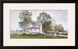 Bee Boxes Framed Giclee Print by Ray Hendershot