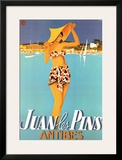 Juan Les Pins Prints by Robert Falcucci