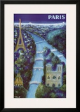 Paris Print by Bernard Villemot