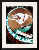 Tour Du Mt Blanc Posters by Roger Broders