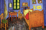 Vincent Van Gogh Bedroom Poster Posters by Vincent van Gogh