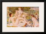 Bathers Prints by Pierre-Auguste Renoir
