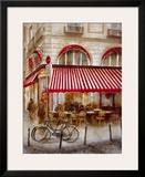 Cafe de Paris II Posters by Noemi Martin
