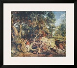 The Wild Boar Hunt Prints by Peter Paul Rubens