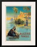 Algerie Tunisie Art by Louis Lessieux