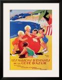 Cote d'Azur-Enfant Posters