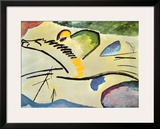 Man On A Horse Prints by Wassily Kandinsky