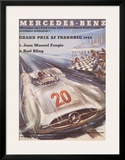 Mercedes Benz Prints by H. Liskars