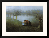 Bear Prints by Michael Sowa