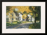 Creek Road Framed Giclee Print by Gene Mcinerney