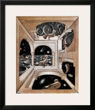Another World Posters by M. C. Escher
