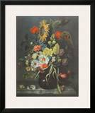 Flowers and Shells Posters by Maria Oosterwyck