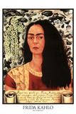 Frida Kahlo (Self Portrait) Plastic Sign Plastic Sign