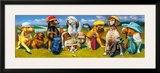 The Masters Framed Giclee Print by Bryan Moon