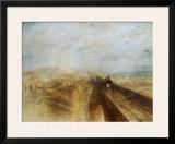 Rain, Steam and Speed Art by J. M. W. Turner