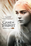 Game of Thrones With Fire and Blood TV Poster Poster