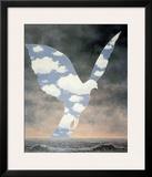 La Grande Famille Poster by Rene Magritte