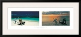 Tropical Horizons Framed Giclee Print by Chris Simpson