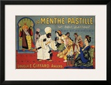 La Menthe-Pastille Prints by Eugene Oge
