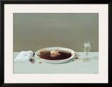 Cerdo en sopa Poster por Michael Sowa