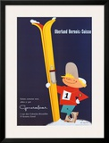 Berner Oberland Posters by E. Hauri