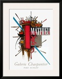 Galerie Charpentier Prints by Georges Mathieu