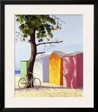 Velo Coutre Un Pin Prints by Henri Deuil