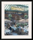 Le Bistro de la Gare Prints by Rosemary Lowndes