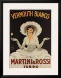 Martini Rossi Vermouth Bianco Art