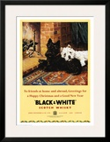 Black & White Scotch Whisky Posters