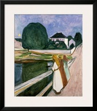 The Girls on the Pier, 1901 Prints by Edvard Munch
