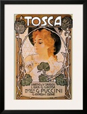 Puccini, Tosca Posters