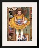 The White Rabbit Posters by Gwynedd Hudson