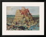 The Tower of Babel Art by Pieter Bruegel the Elder