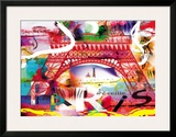 Paris s'eveille Posters by  Kaly