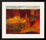 Evening, Spider Rock Prints by Paul Davis