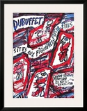 Centre Georges Pompidou Prints by Jean Dubuffet