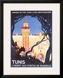 Tunis Framed Giclee Print