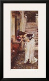 The Shrine Prints by John William Waterhouse