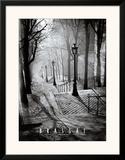 Les Escaliers de Montmartre, Paris Posters by  Brassaï