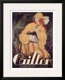 Cailler Chocolat Framed Giclee Print by Charles Loupot