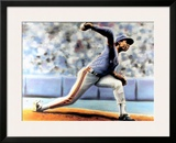 The Delivery (New York Mets Dwight Gooden) Print by Jack Lane