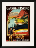 Canadian Pacific, Banff Prints