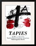 Expo Berlin Prints by Antoni Tapies