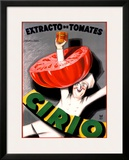Cirio Framed Giclee Print by Achille Luciano Mauzan