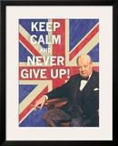 Keep Calm Brit I Posters