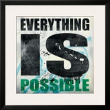 Everything is Possible Framed Giclee Print by Daniel Bombardier