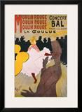 Moulin Rouge Art by Henri de Toulouse-Lautrec