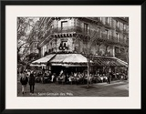 Saint-Germain des Pres, Paris Prints by Oliver Martin Gambier