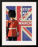 Keep Calm Brit II Prints